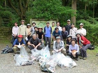 2012年6月 釈迦岳(島本町)