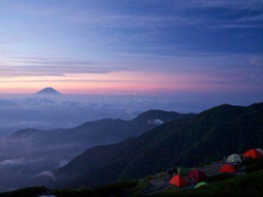 2011年8月 白峰三山縦走