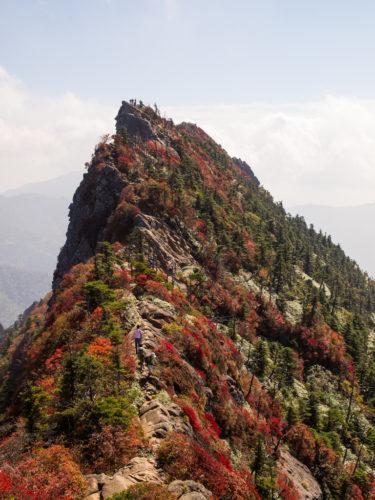 2011年10月 石鎚山&赤星山&剣山