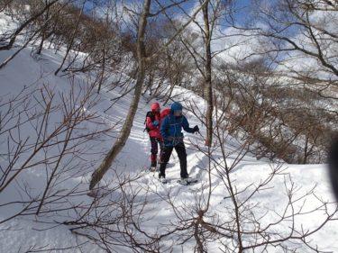 2017年1月 赤坂山 スノーシュートレッキング